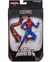 "Marvel Legends Series: SPIDER-MAN: HOUSE OF M 6"" Figure w Build Part NIB... - $29.99"