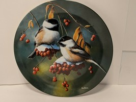 """Vintage 1986 Knowles China """"The Chickadee"""" by Kevin Daniel Collectible P... - €6,59 EUR"""