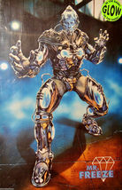 "1997 BATMAN & ROBIN Movie MR. FREEZE GLOW IN THE DARK POSTER 23x34.5"" 30... - $14.50"
