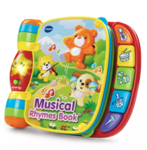 VTech 80166700 Musical Rhymes Educational Book for Babies - $19.35