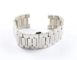 """Swiss Legend 30MM 7.5"""" Silver Watch Band Strap Bracelet fits 46MM Throttle - $48.65"""