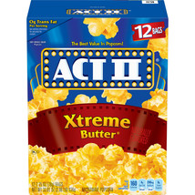 MICROWAVE POPCORN BUTTER - 2 Boxes----Each  Box Is 1 X(4.68LB) - $37.45