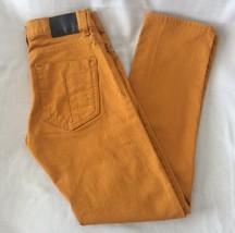 Levi's Denizen Jeans 216 Skinny Fit Boys Sz 4 Regular Gold color - $18.69