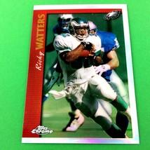 Ricky Watters 1997 Topps Chrome Refractor Parallel #25 NFL Philadelphia ... - $3.91