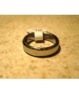 RING MEN WOMEN UNISEX BRUSHED SILVER WEDDING BA... - $9.99