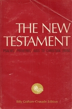 BOOK- The New Testament by Billy Graham Crusade Edition (1965)  - $4.99