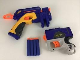 Nerf Dart Guns Pull Back Pistol Laser Sight Ammo 2004 Trigger Weapon Toy... - $14.80