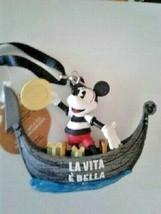 Disney World Epcot Italy Pavilion Mickey Figure Ornament, NEW - $35.00
