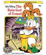 Walt Disney The Rain God of Uxmal Comic Album Uncle Scrooge London Ed VE... - $9.74
