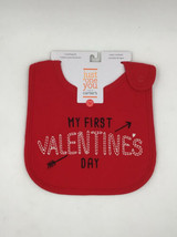 Just One You Carter's My First Valentine's Day Bib. BRAND NEW - $6.92