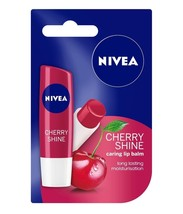Nivea Lip Care Fruity Shine Cherry |  4.8g | Free Shipping - $7.57