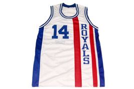 Oscar Robertson #14 Cincinnati Royals Men Basketball Jersey White Any Size image 1