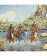 Out Of Bounds Southwest Indian Painting Limited Edition Giclee Print  - $150.07