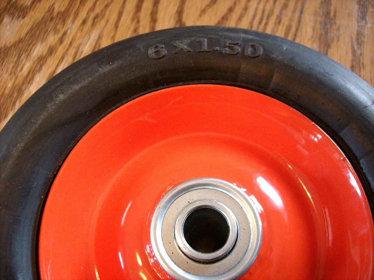 Lawn Boy commercial steel ball bearing wheel tire 678513 / 681979