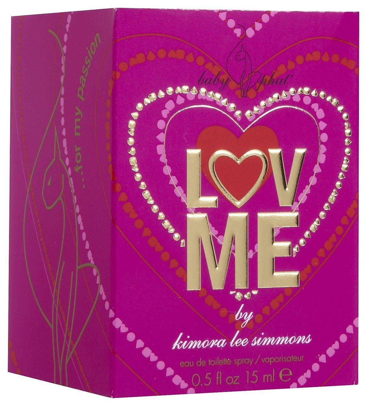 Baby Phat Love Luv Me Eau de Toilette Spray Women Perfume 15 mL