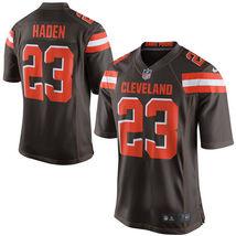 Joe Haden 2017 Cleveland Browns Brown Game Men Jersey - $59.99