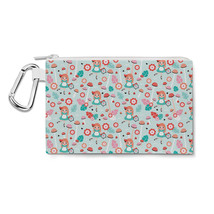 Alice in Wonderland Canvas Zip Pouch - $15.99+
