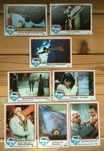 Topps 1978 Superman The Movie Trading Cards Lot of 8 - $9.50