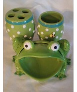 Bathroom Accessory Set 'Froggy' by Jay Franco & Sons - 3 piece - $24.39
