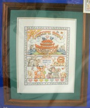 "Bucilla ""Noah's Ark"" Personalized Birth Record Counted Cross Stitch Kit-11""x14"" - $18.95"
