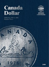 Canada Dollar No. 3, 1968-1984, Whitman Coin Folder - $5.88