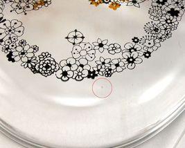 Pyrex Floral Bubbles 945C Lid 3D Effect Vintage 1970 Clear Glass ~ LID ONLY image 6