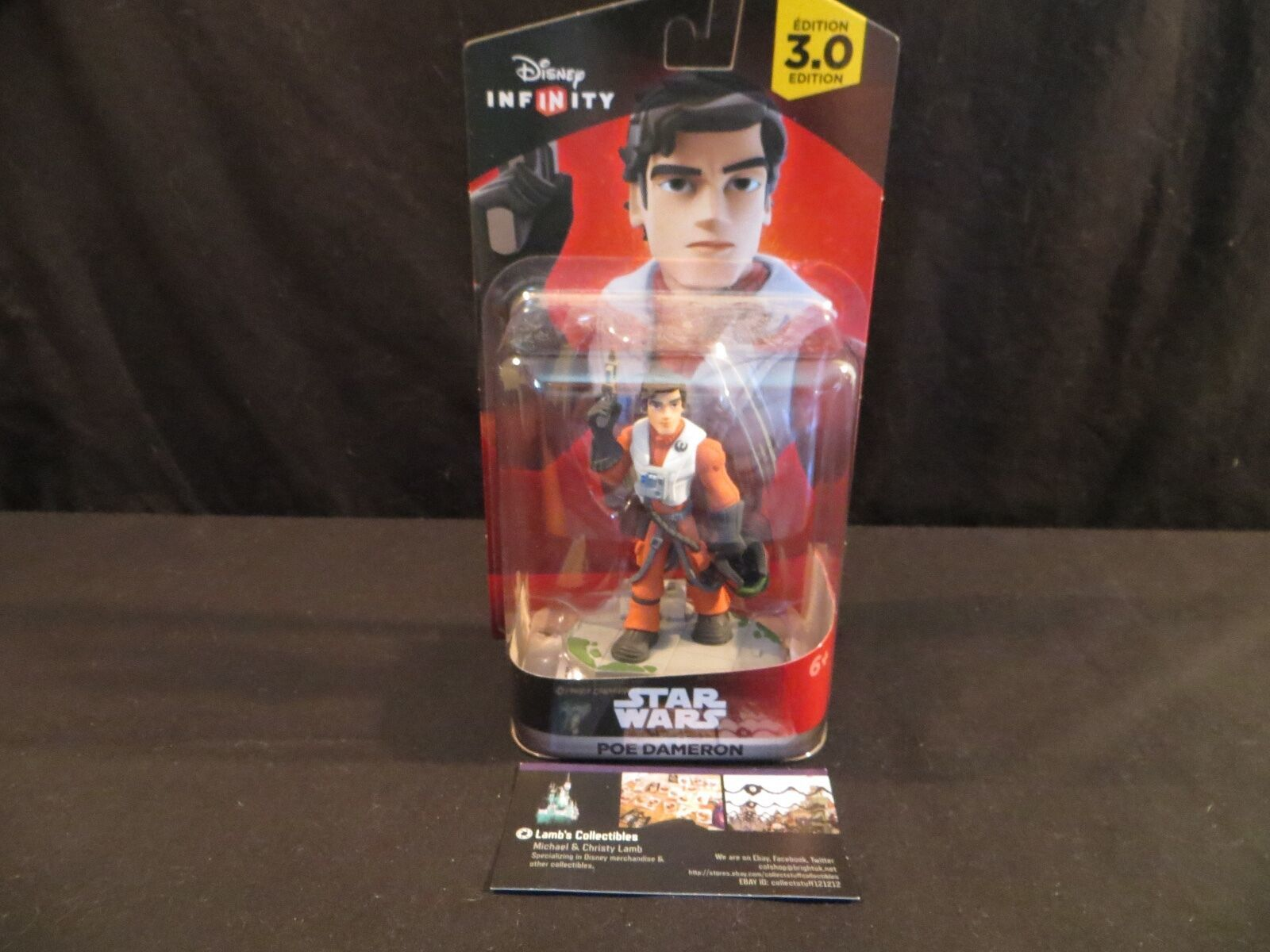 Primary image for Poe Dameron Disney Infinity 3.0 Star Wars The Force Awakens action Figure
