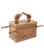 Pacific Giftware The Ark of The Covenant Box Model Collectible Golden Ar... - $32.66