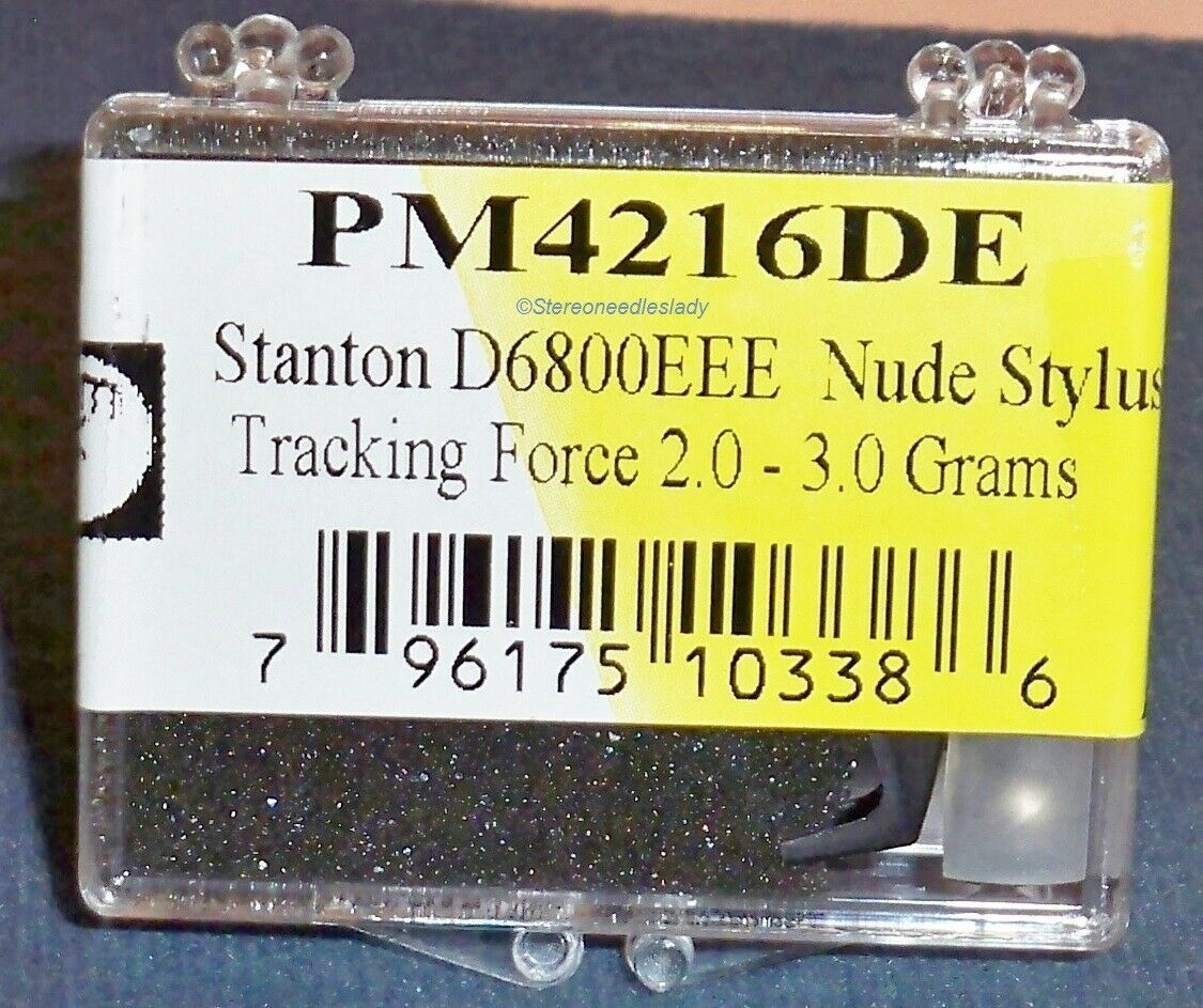 EV PM4216DE NUDE DIAMOND NEEDLE for Stanton D6800EEE for STANTON 681EEE 822-DEEE