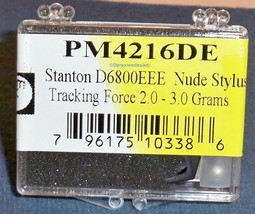 EV PM4216DE NUDE DIAMOND NEEDLE for Stanton D6800EEE for STANTON 681EEE 822-DEEE image 1