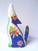 Wolf Folkart Ceramic Garden Pottery Home Accent... - $15.83
