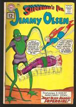 Superman's Pal Jimmy Olsen #57 Silver Age Dc Comics 1961 VG+/Fine Range - $38.61