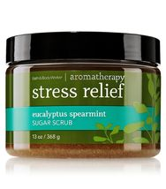 Bath & Body Works AROMATHERAPY Stress Relief Eucalyptus Spearmint Sugar ... - $25.99