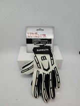 """Wilson Ultimate Grip Football Receiver Gloves Youth Size """"Small"""" WTF9311WLS - $15.83"""