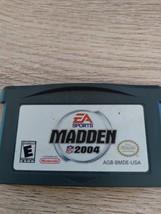 Nintendo Game Boy Advance GBA Madden NFL 2004 image 2