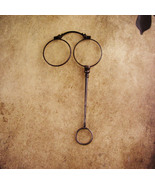Antique Victorian Lorgnette Glasses - folding Spectacles with handle - e... - $110.00