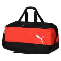 Puma 2017 Pro Training II Medium Team Bag Shoulder Tote Gym Black/Red 07... - $46.52