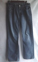 American Eagle Jeans Blue Denim Pant Size 30/34 Cotton Stretch Low Rise ... - $9.33