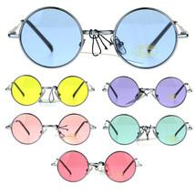 Child Size Hippie Groove Round Circle Light Color Lens Sunglasses - $9.95