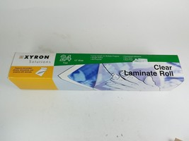 Xyron 12-Inch Wide Clear Laminate Roll Part # XSLR 001 - $13.57