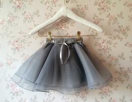 Baby GIRL Skirt Flower Girl Tutu Skirt Peach Toddler Tulle Skirt Baby Shower NWT image 5