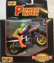 Motorized Die Cast Metal & Plastic Motorcycle [Brand New] - $22.99