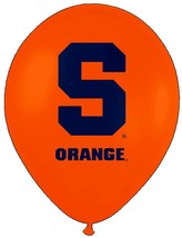 "Syracuse Orange NCAA College University Sports Party Decoration 11"" Ball... - $6.99"