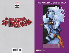 AMAZING SPIDER-MAN #8 JG JONES BLACK CAT VAR  EST REL DATE 10/24/2018 so... - $19.99