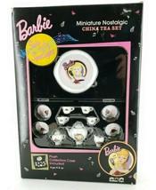 1995 Barbie Solo in the Spotlight Miniature Nostalgic China Tea Set - $16.33