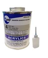 Weld-On 4 Acrylic Adhesive (Pint) and Applicator Bottle with Needle - $36.58