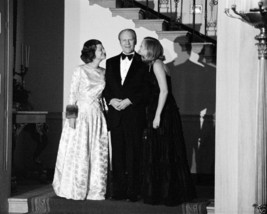 President Gerald Ford with Betty & Susan at Christmas party - New 8x10 P... - $6.61