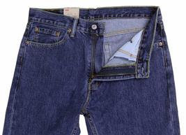 NEW LEVI'S STRAUSS 505 MEN'S ORIGINAL STRAIGHT LEG DARK STONEWASH JEANS 505-4886 image 5