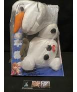 """Olaf Disney Frozen Pull Apart & Talking Stuffed Snowman 15"""" Plush Doll J... - $40.19"""