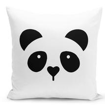 """Throw Pillow Panda Face Pillow For Kids 16"""" Stuffed Decorative Pillow - $28.49"""